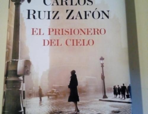 LECTURA: El prisionero del cielos, de Carlos Ruiz Zafón