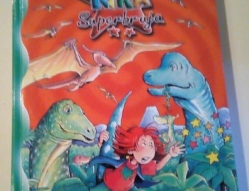 LECTURA: Kika super bruja y los dinosaurios