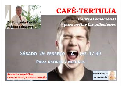 cafe tertulia control emocional